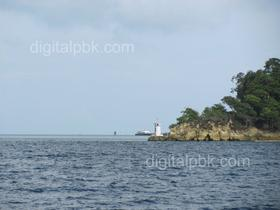 One of the vertex of havelock island