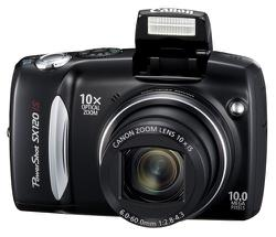 Canon SX120 IS - 10x Zoom & 10 Megapixel - Review