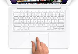 Macbook white keyboard
