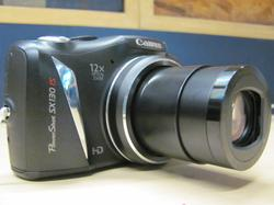 Canon SX130IS Lens View